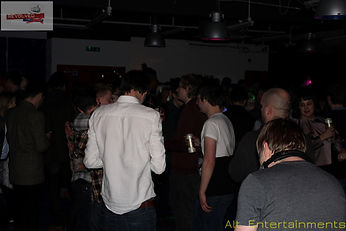 Crowd at Revolved Re-union indie & Alternative club night at Fixxion Warehouse Project Wolverhampton, West Midlands, Indie DJ Wolverhampton / Alternative DJ Wolverhampton. Indie DJ West Midlands / Alternative DJ West Midlands. Alt. Entertainments