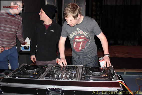 Kevin Carter DJing at the Revolved Reunion Night at Fixxion Warehouse Project Wolverhampton, Indie DJ Wolverhampton