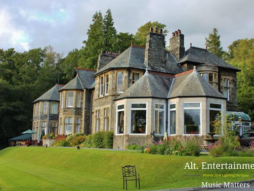 Gig Log - Wedding at the Lake District
