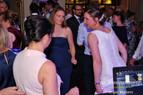 Ladies on the dance floor at wedding.