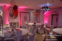 Mood Lighting Soloutions used at Mercure Birmingham North
