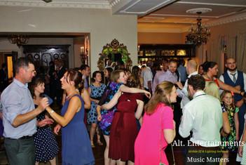 Wedding Guests enjoy Dancefloor