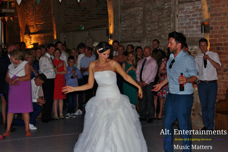 Wedding at Springhill House