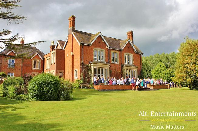 Springhill House wedding venue, Pershore.