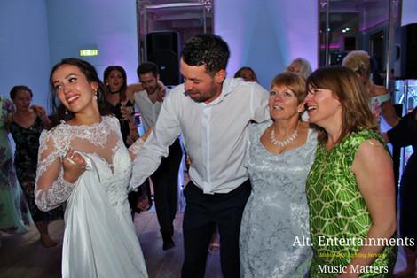 Bride, Groom & Family