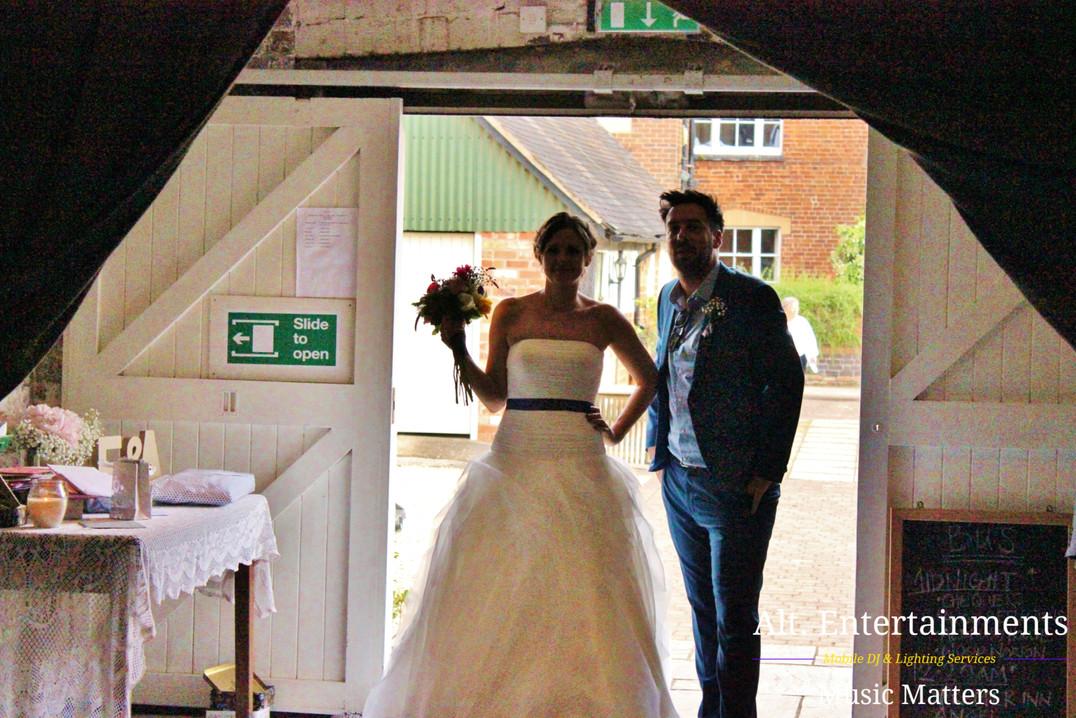 Bride at Wedding Reception