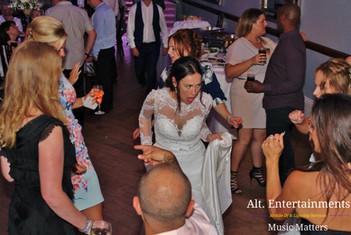 Bride Enjoying Dancefloor
