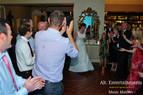 Bride Struts stuff on dance floor