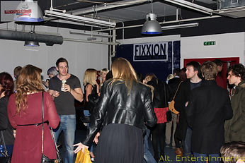 Crowd at Revolved Re-union indie & Alternative club night at Fixxion Warehouse Project Wolverhampton, West Midlands, Indie DJ Wolverhampton / Alternative DJ Wolverhampton. Indie DJ West Midlands / Alternative DJ West Midlands