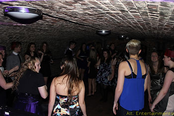 Photo Taken in the Cellars at Spring Grove House.  Mobile DJ Bewdley, Mobile Disco Bewdley, Mobile DJ West Midlands, Mobile Disco West Midlands,  Alt. Entertainments Based in Walsall Wood nr Sutton Coldfield & Lichfield