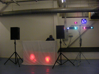 An example of a inferior DJ Set-up My How far I have come in a short space of time.