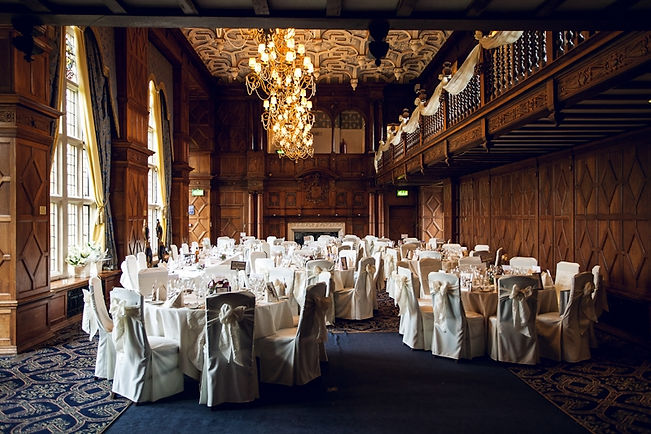 The Grand Hall at the Mount Hotel, Tettenhall, Wolverhampton.