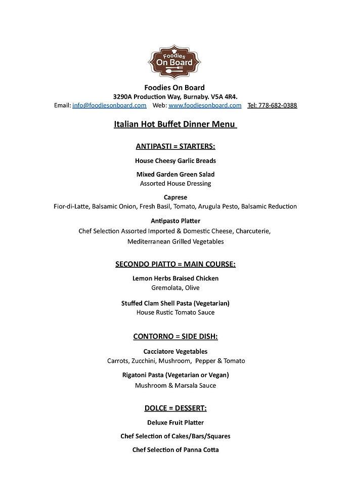 2019 Itilian Hot Buffet Dinner Menu.jpg