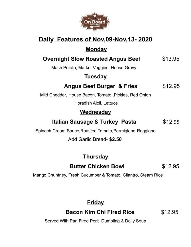 Daily Feature for Nov,09-Nov,13,2020