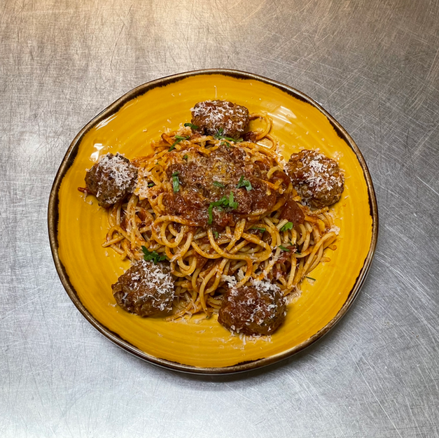 Angus Beef Meat Ball Pasta