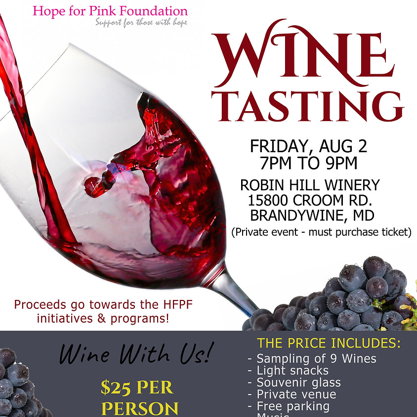 Wine With Us (Fundraiser)