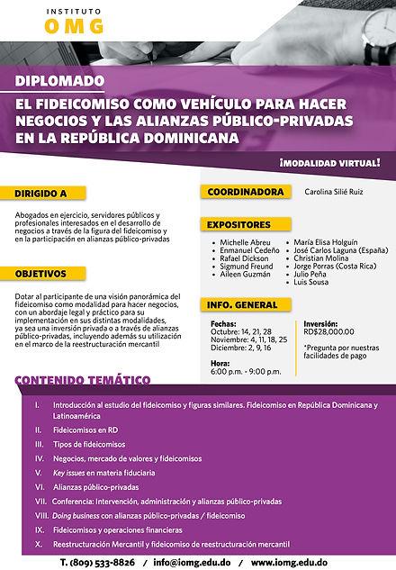 IOMG Diplomado Fideicomiso como vehículo para hacer negocios