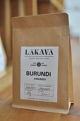 BURUNDI, KIRUNDO