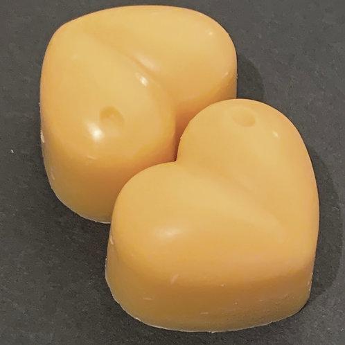 2 x Gingerbread Sample Hearts