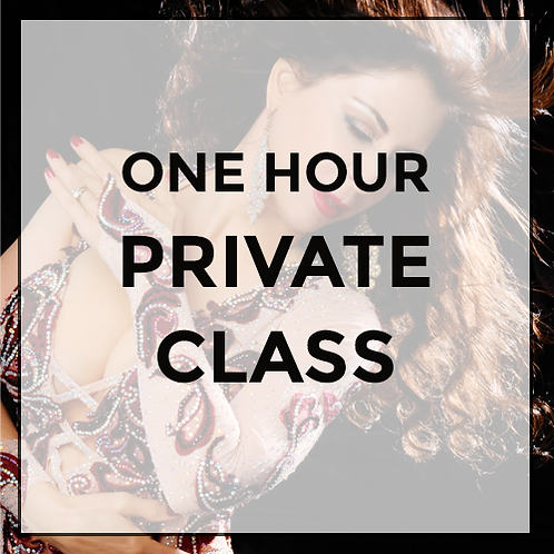 One Hour Private Class