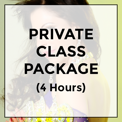 Private Class Package (Valid for 4 hours of instruction).
