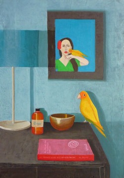 The portrait and the bird