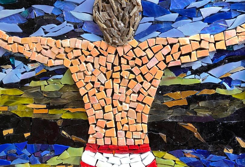 mosaic, male form
