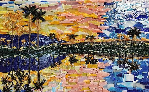 Sunset Desert Reflection