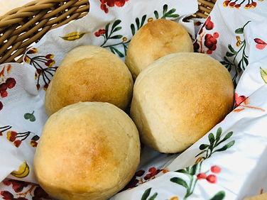 袋で「もみもみ」お餅テーブルパン