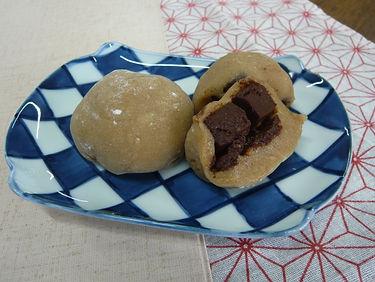 お餅チョコ大福(酒まんじゅう風味)