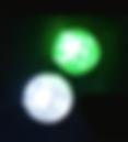 Led mono flat 0,36 w pour piquer dans les panneaux conducteurs d'électricité-éclairage sans fil