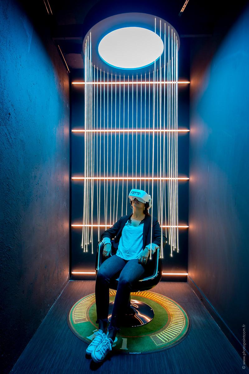 rideaux lumineux en fibre optique diffusante MIDLIGHTSUN