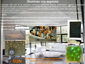 Illuminez votre espace avec le concept modulable éclairage LEDs sans fil