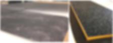 Panneau conducteur d'électricité : Finition Impression sur toile, encollage tissu