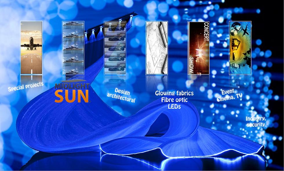Technological innovation lighting:fiber optic fabric, fiber optic, LED