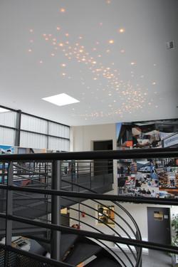 Ciel étoilé LEDs sans fil fil