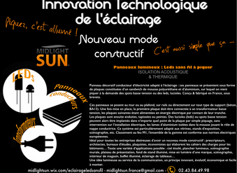 Innovation technologique de l'éclairage L'éclairage sans fil : une gamme professionnelle ent
