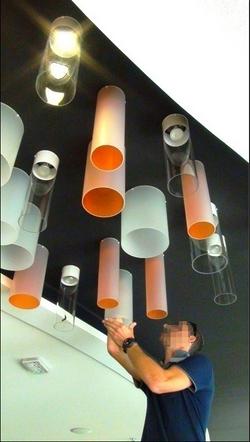 Luminaire sans fil sur mesure