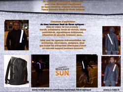 vêtements lumineux