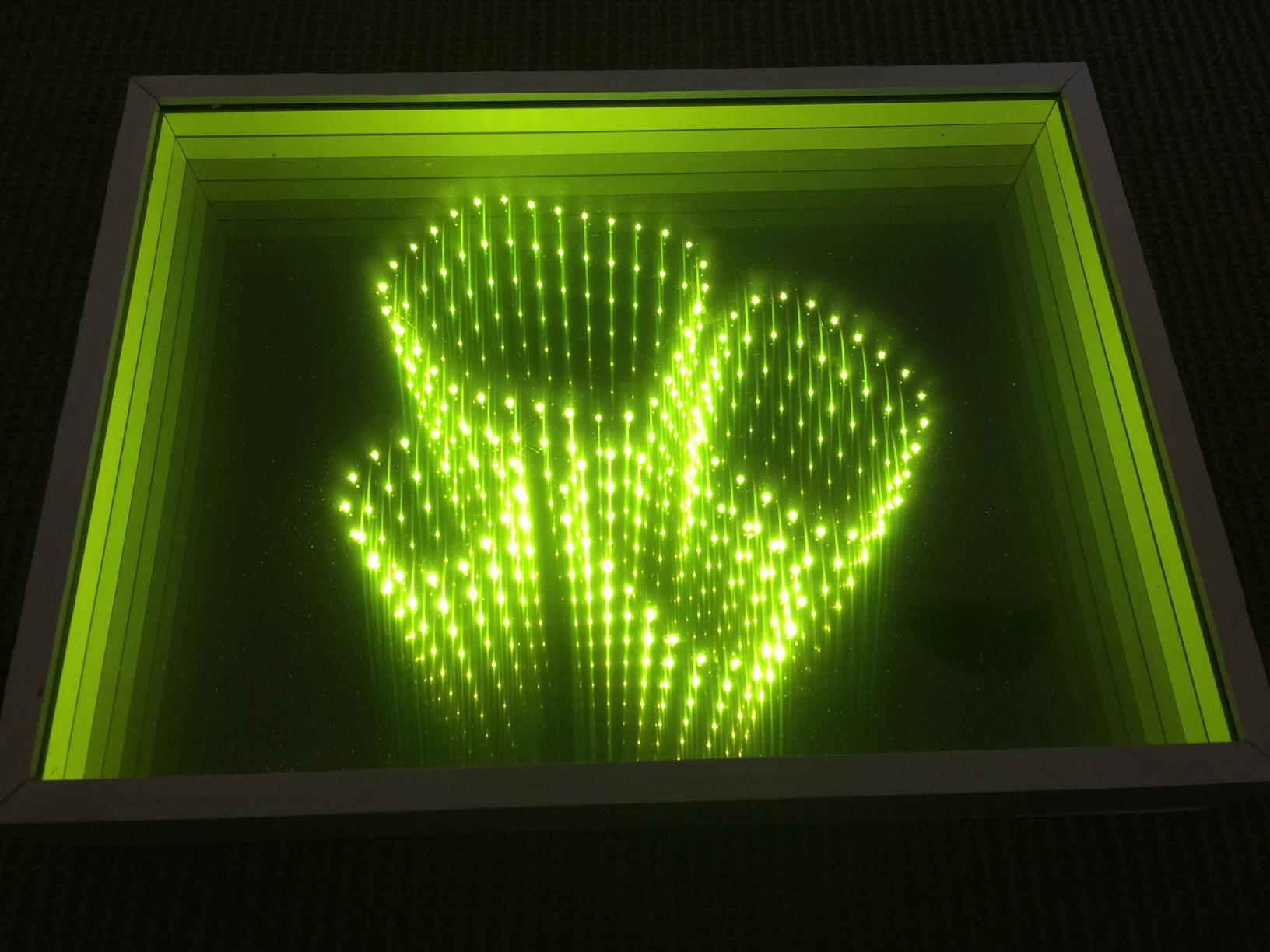 fibre optique - effet 3D
