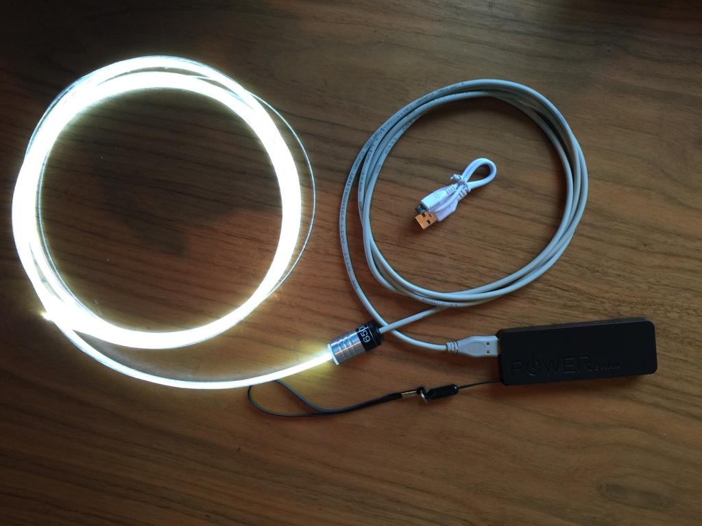 Faisceau batterie USB.5
