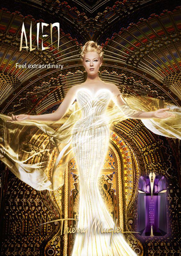 Robe lumineuse - publicité