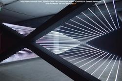 Exposition-création en fibre optique
