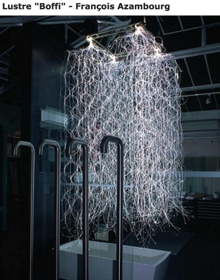 lustre fibre optique diffusante