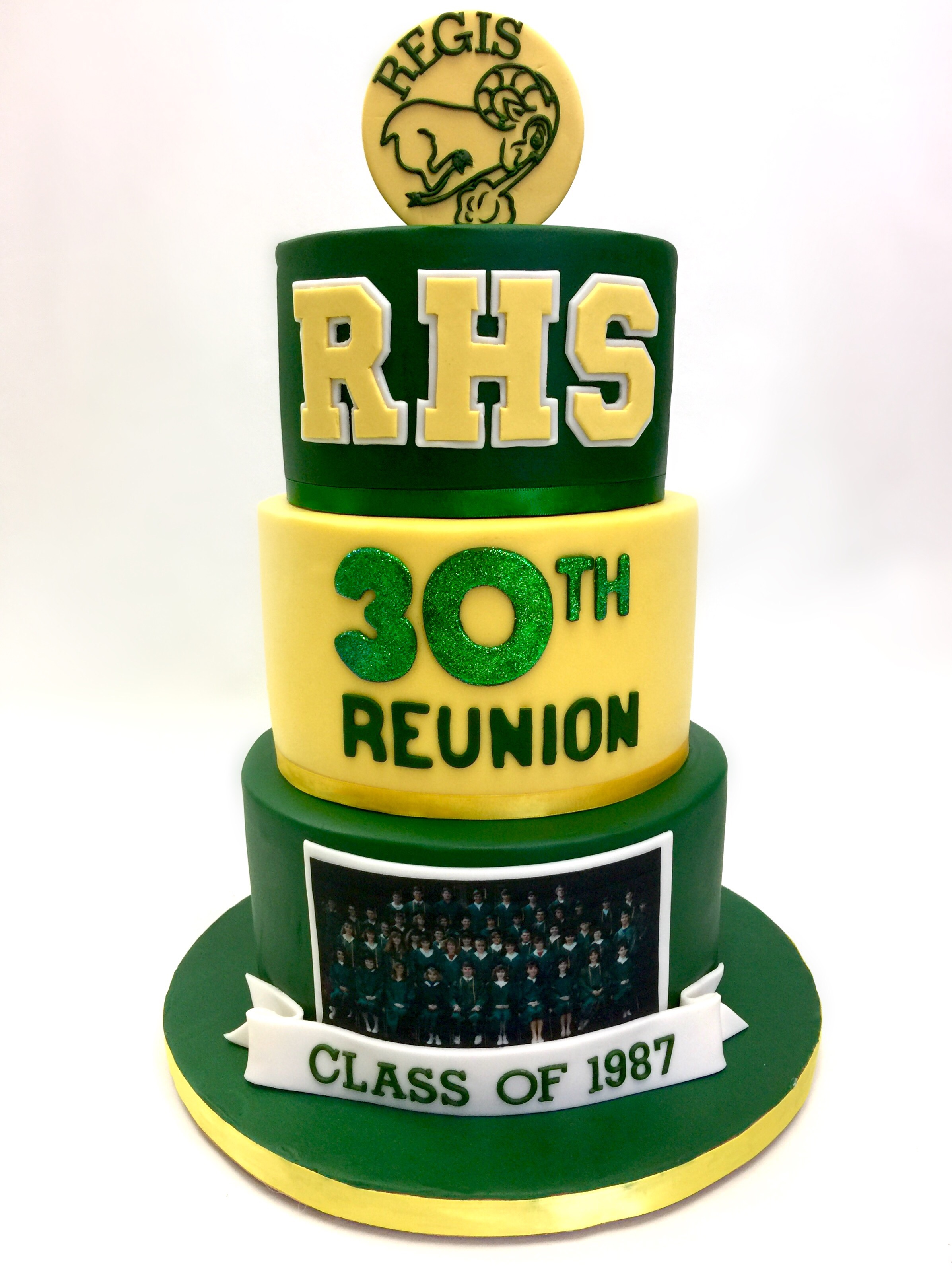 High School Reunion Cake