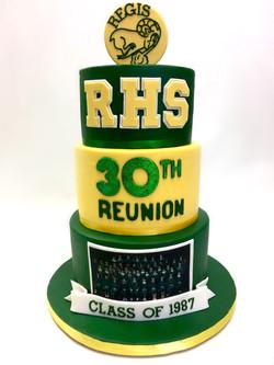 High School Reunion Cake