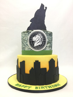 Wolf of Wallstreet Cake