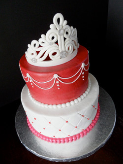Tiara Birthday Cake