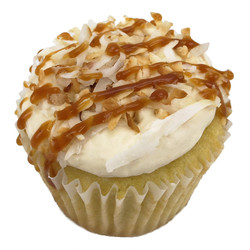 toasted coconut with salted caramel