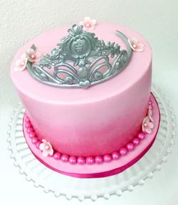 Sugar Tiara Cake